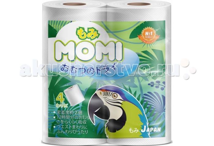 Хозяйственные товары Momi Туалетная бумага 4 шт. туалетная бумага с анекдотами