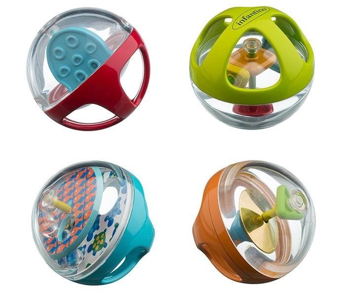 Развивающие игрушки Infantino Набор мячиков музыкальные игрушки