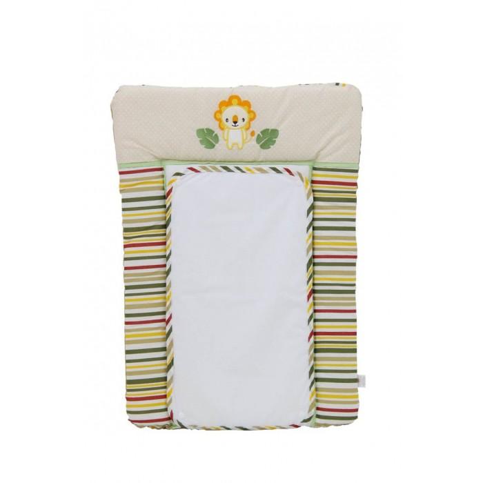 Детская мебель , Накладки для пеленания Polini Доска пеленальная на комод Джунгли 70х50 арт: 377259 -  Накладки для пеленания