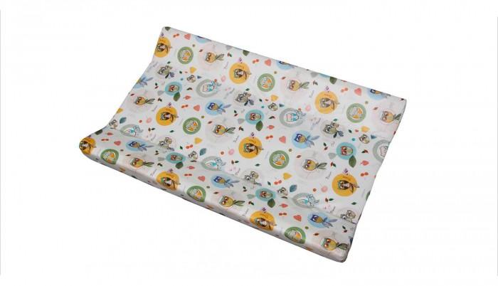 Детская мебель , Накладки для пеленания Polini Доска пеленальная для кроватей Совы арт: 377374 -  Накладки для пеленания