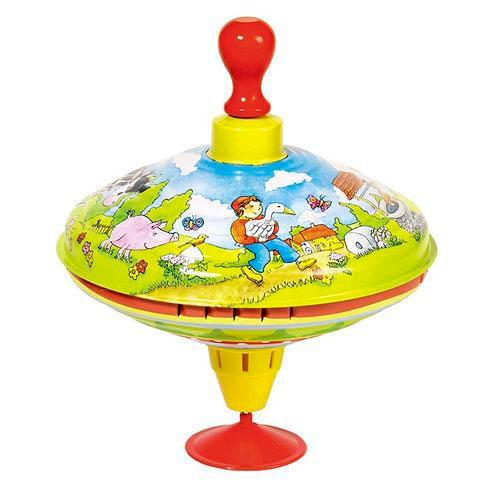 Развивающие игрушки Goki Юла Нильс с дикими гусями Cause