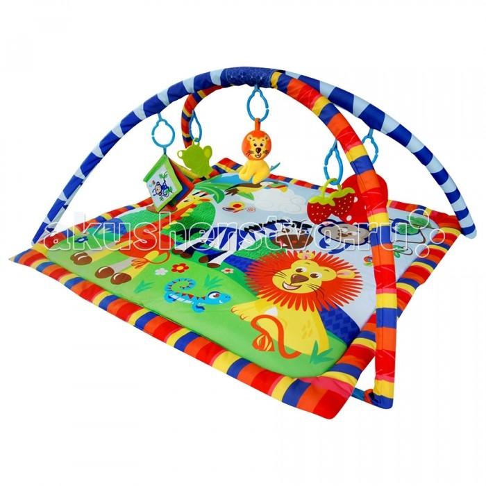 Развивающие коврики La-di-da Веселый Зоопарк игровые коврики жирафики коврик музыкальный веселый зоопарк