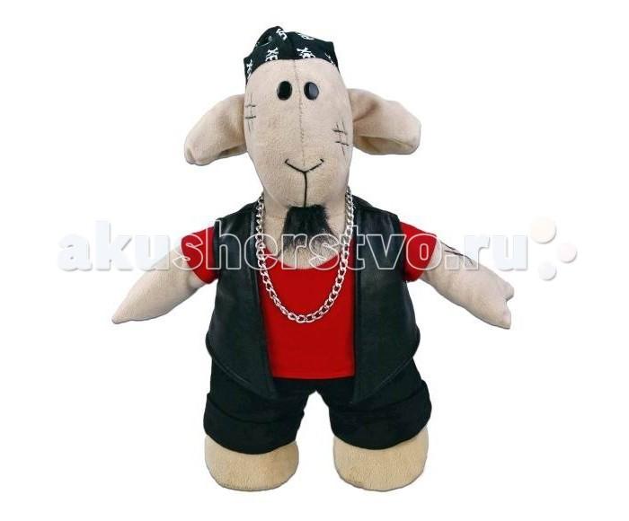 Мягкие игрушки Fluffy Family Овечки челОвечки Рокер 30 см игрушка мгка fluffy family диджей 681031