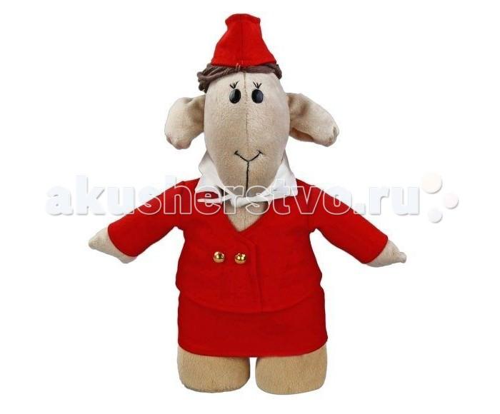 Мягкие игрушки Fluffy Family Овечки челОвечки Стюардесса 30 см