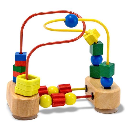Купить Деревянные игрушки, Деревянная игрушка Melissa & Doug Лабиринт с фигурами