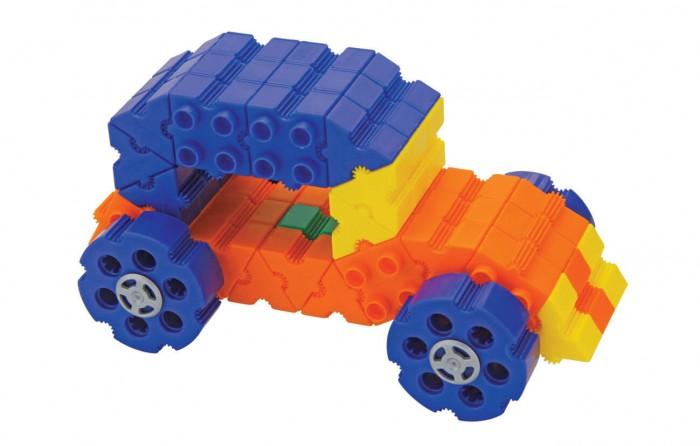 Конструктор Morphun Машины Радуга Junior Starter Rainbow 12 Vehicle Set 140 деталей
