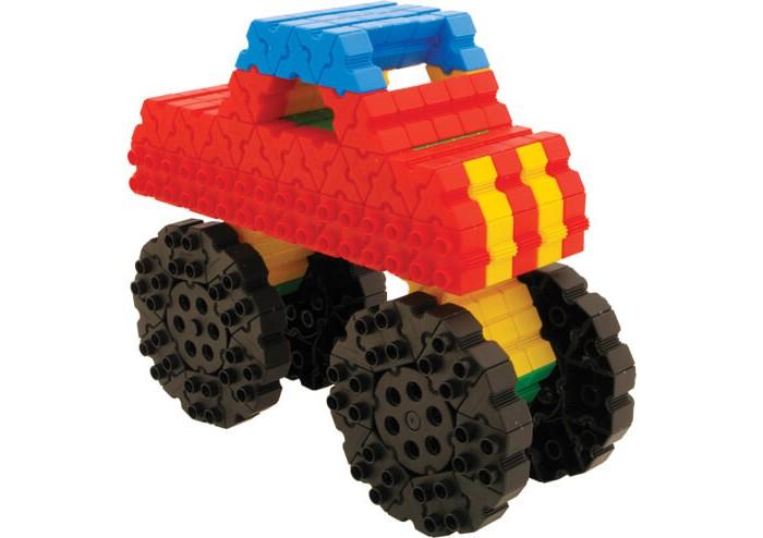 потрогай и узнай большие машины Конструкторы Morphun Большие машины Jumbo Vehicles Set 280 деталей