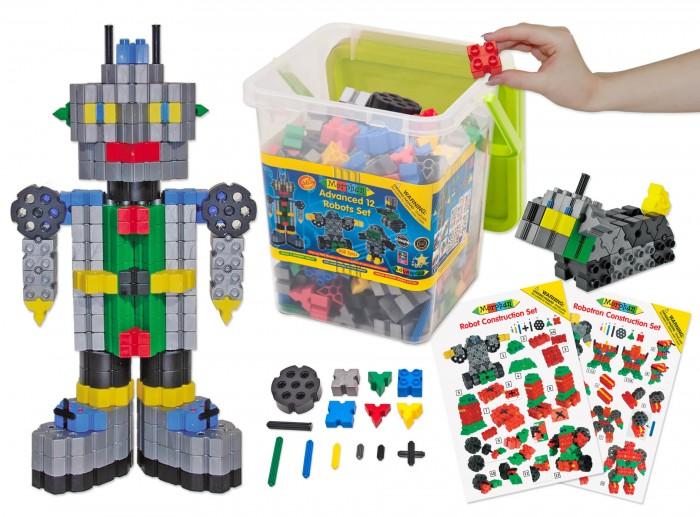 Конструктор Morphun Роботы Advanced 12 Robot Set 465 деталей