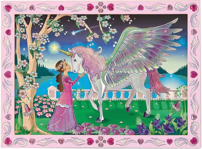 Мозаика Melissa & Doug Мозаика Единорог наборы для рисования цветной картины по номерам девушка в венеции