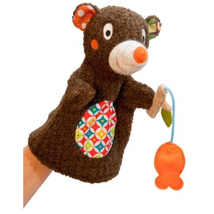 Ролевые игры Ebulobo Игрушка на руку Мишка на рыбалке мягкие игрушки ebulobo мишка и рыбка