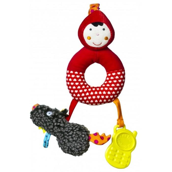 Погремушки Ebulobo Мягкая игрушка Красная шапочка ebulobo куколка мягкая красная шапочка