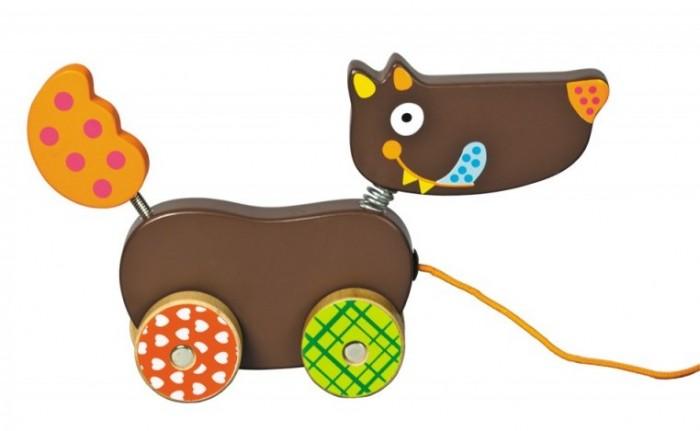 Каталки-игрушки Ebulobo Волчонок каталки игрушки ebulobo волчонок