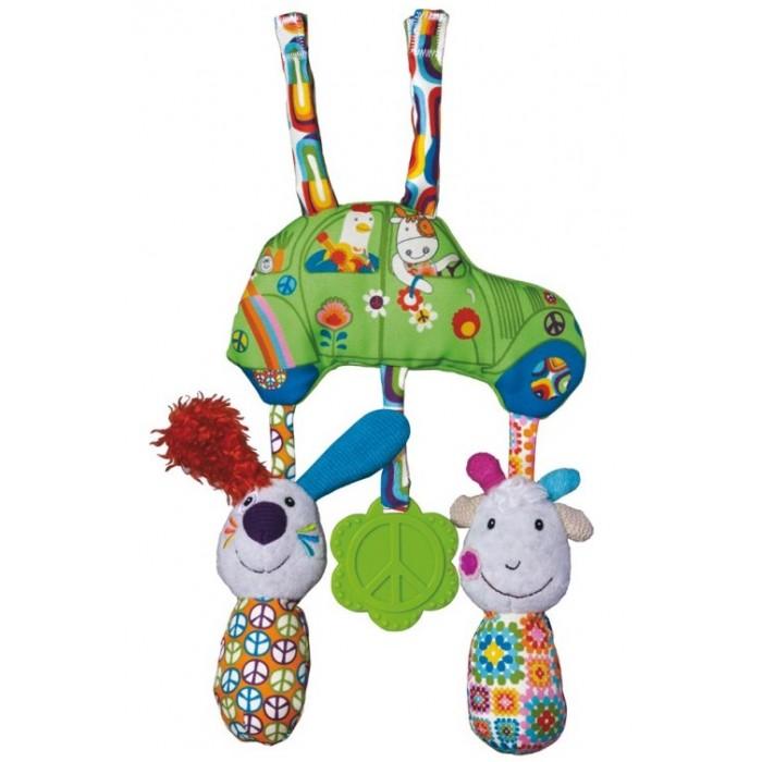 Подвесные игрушки Ebulobo Подвеска на кроватку Весёлая Ферма каталки игрушки ebulobo мишка большая