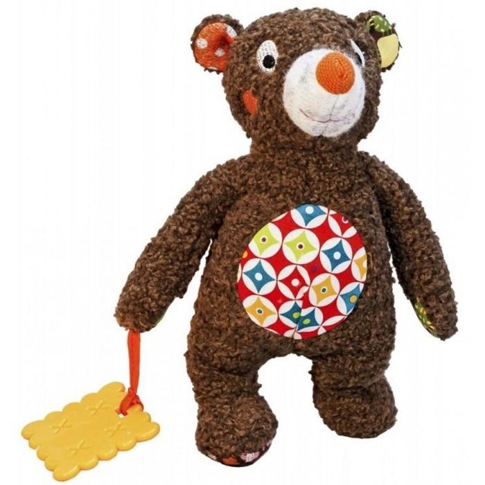 Мягкие игрушки Ebulobo Малыш Мишка развивающие игрушки ebulobo слонёнок зигги и его друзья
