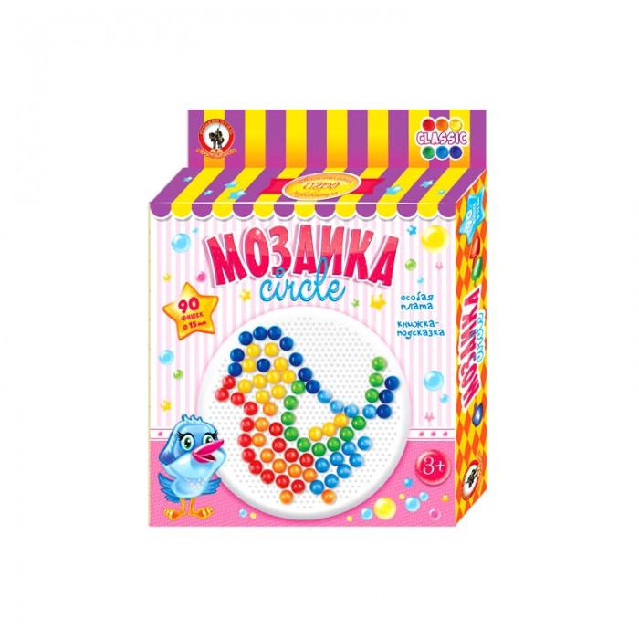 Мозаика Русский стиль Мозаика Classic Птичка 90 элементов D 15 мм Круглая плата мозаика miniland мозаика 160 элементов