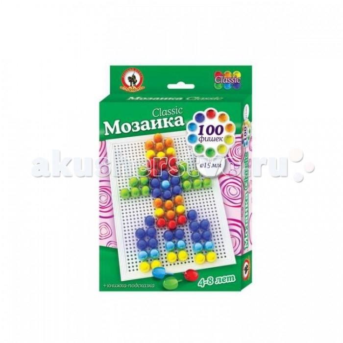 Мозаика Русский стиль Мозаика Classic Ракета 100 элементов D 15 мм Малая плата мозаика toysunion мозаика классика 135эл малая плата 00 325