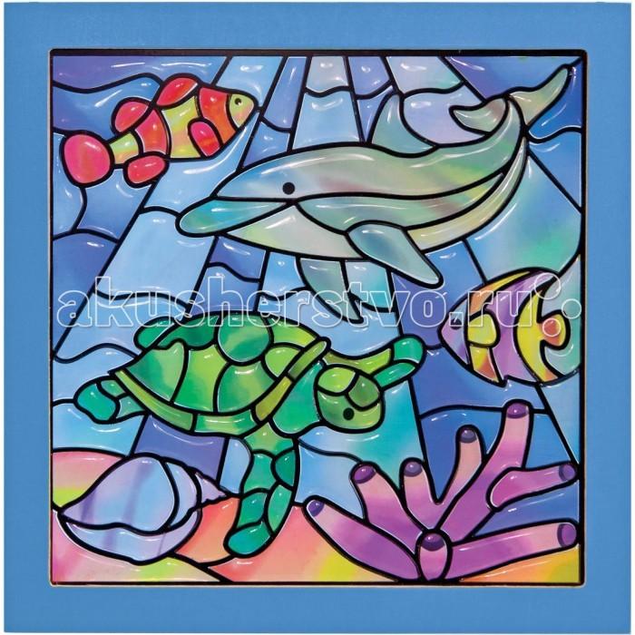 Мозаика Melissa & Doug Мозаика витраж Подводная фантазия мозаика melissa