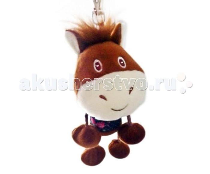 Мягкие игрушки Fluffy Family Лошадка брелок 12 см большую мягкую игрушку собаку лежа в москве