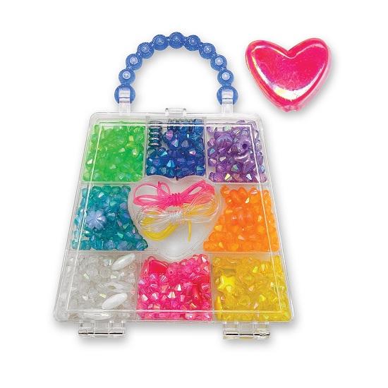 Наборы для творчества Melissa & Doug Набор бусин Радужные кристаллы