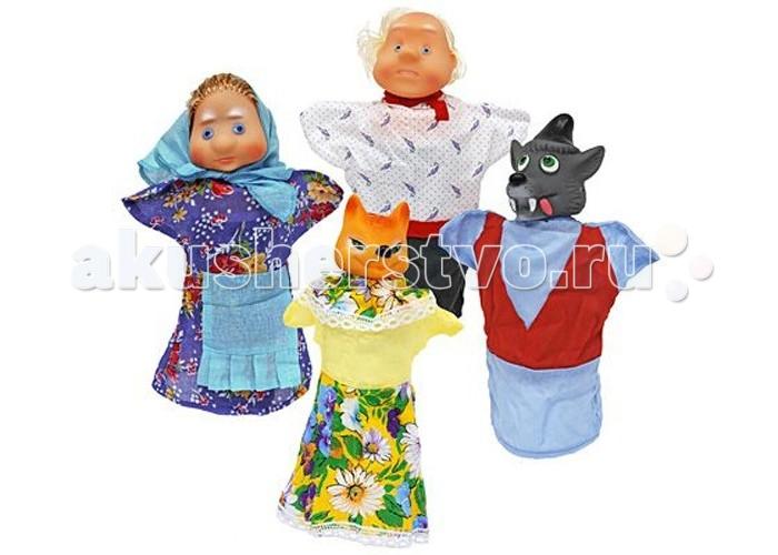 Картинка для Ролевые игры Русский стиль Кукольный театр Волк и Лиса 4 персонажа п\п