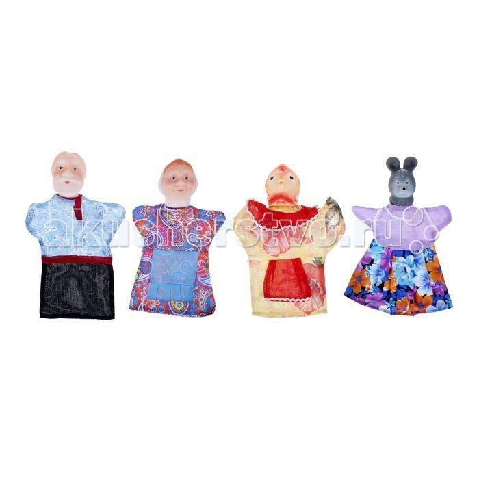 Картинка для Ролевые игры Русский стиль Кукольный театр Курочка Ряба 4 персонажа