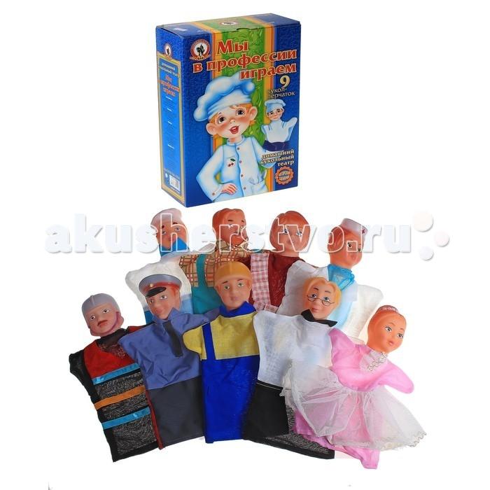 Картинка для Ролевые игры Русский стиль Кукольный театр Мы в профессии играем 9 персонажей