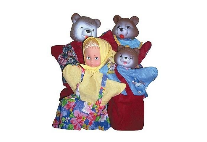 Ролевые игры Русский стиль Кукольный театр Три медведя 4 персонажа airis press настольная игра волшебный театр колобок три медведя