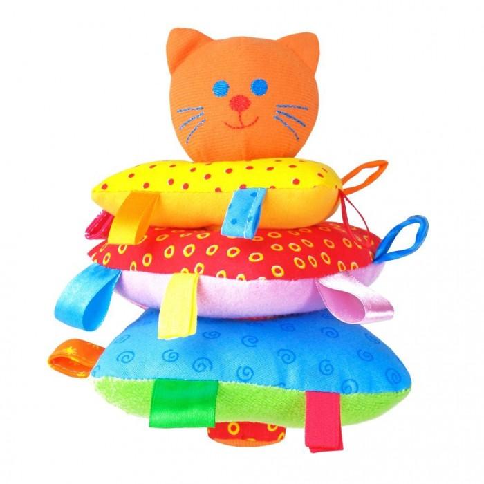 Погремушки Мякиши Пирамидка Котик 266 игрушка пирамидка мишка топтыжка