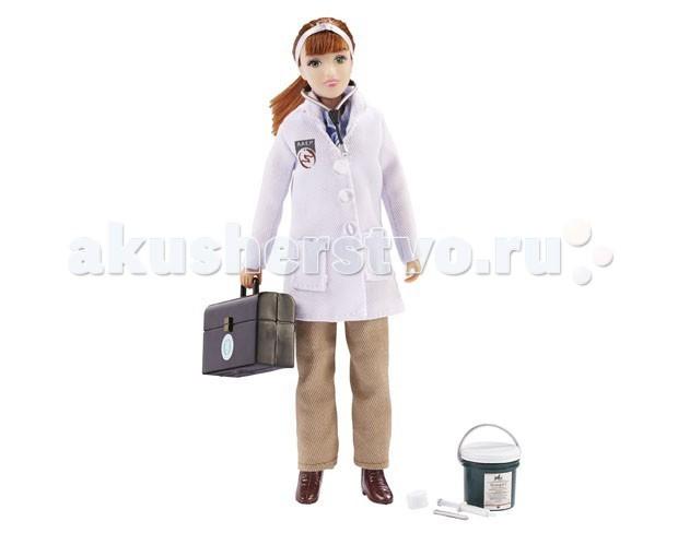 Breyer Кукла ветеринар Лора с набором инструментов