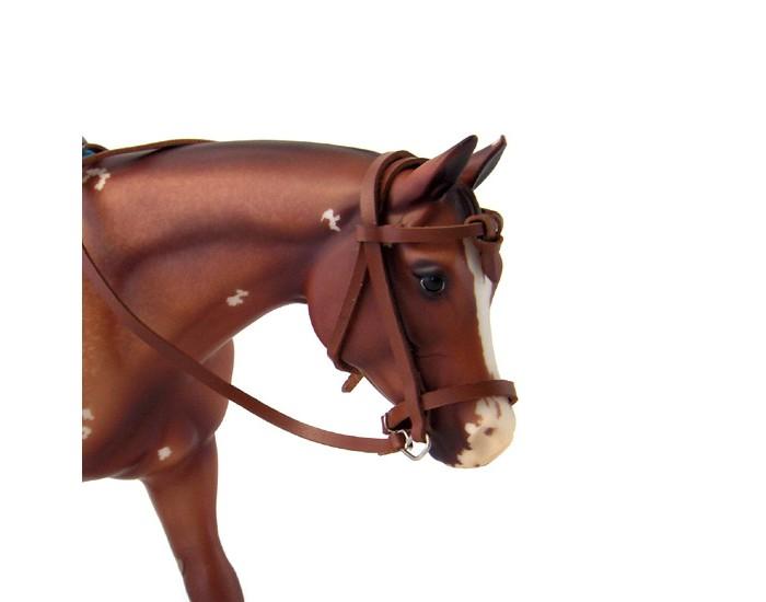 breyer лошадь альборозо символ breyerfesta 2008 года Игровые фигурки Breyer Регулируемая уздечка в стиле дикого запада для лошади