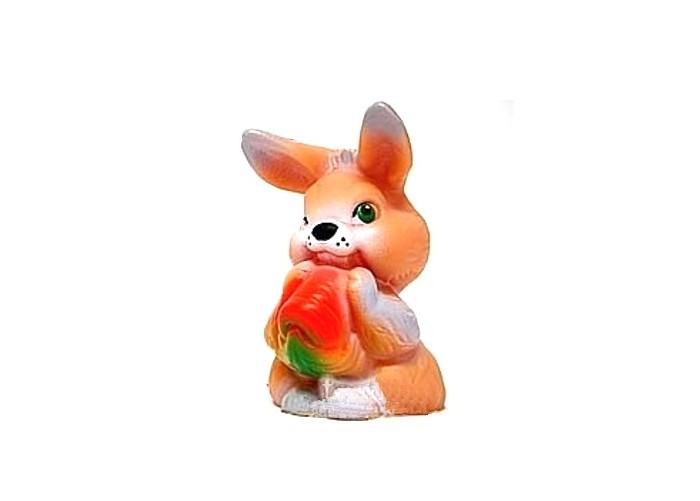 Развивающие игрушки Русский стиль Игрушка Зайчик с морковкой 12 см