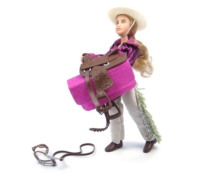 Игровые фигурки Breyer Набор Кукла Кейтлин с аксессуарами в стиле Вестерн breyer трактор с аксессуарами