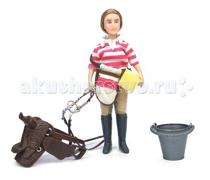 Breyer Набор Кукла Ева с аксессуарами для лошади