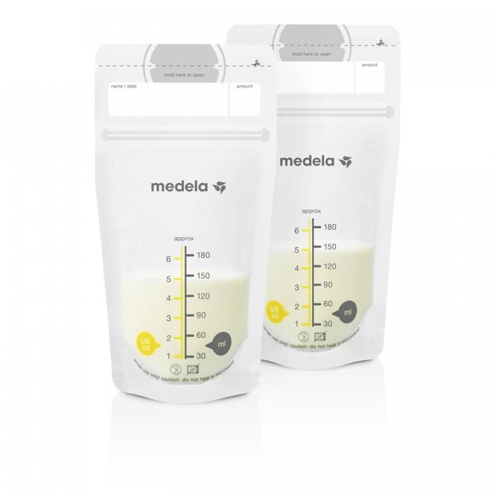Контейнеры Medela Пакеты одноразовые для хранения грудного молока 25 шт canpol пакеты для хранения грудного молока 20 шт 70 001