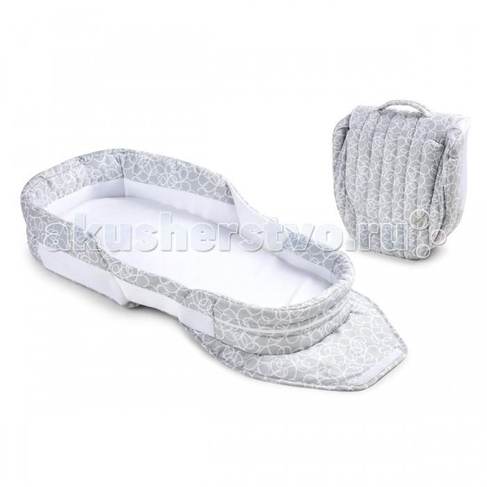 Колыбели Baby Delight Мобильная складная кроватка Snuggle Nest Surround BL, Колыбели - артикул:381979