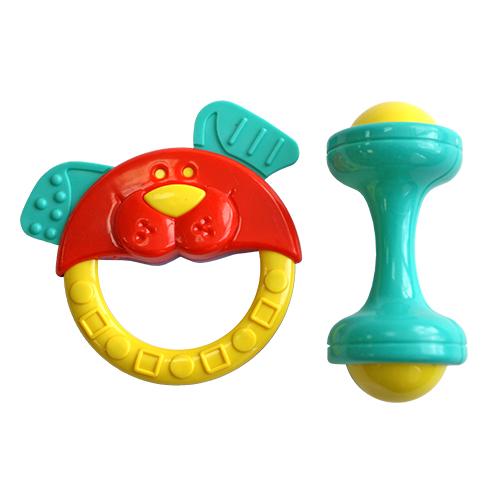 Погремушки Lubby Собачка и гантелька погремушки amico развивающая игрушка гантелька ферма