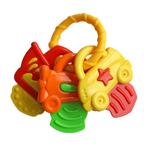 Погремушки Lubby Ключики - Машинки машинки пазлы книжка игрушка