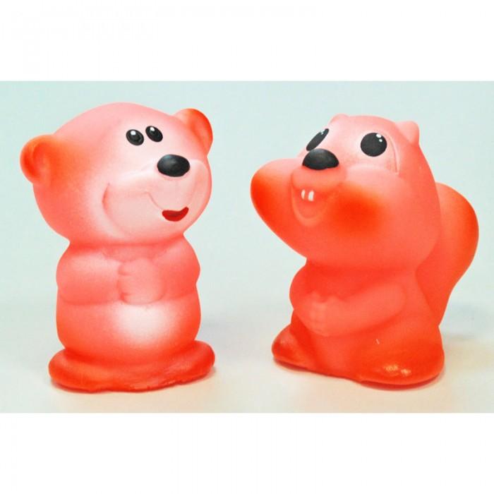 Игрушки для ванны Русский стиль Набор игрушек Бурундук и Медвежонок игрушки для ванны tolo toys набор ведерок квадратные