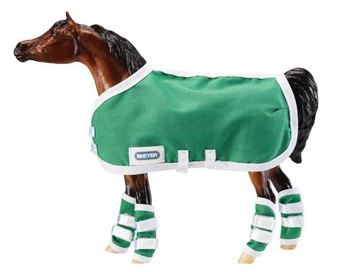 Breyer Попона и ногавки для защиты лошади