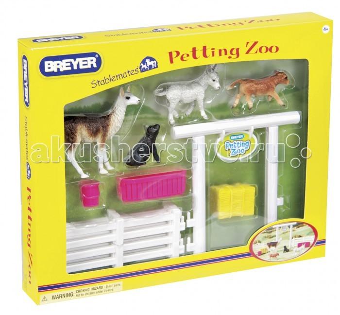 Игровые фигурки Breyer Игровой набор Домашний Зоопарк с аксессуарами breyer трактор с аксессуарами