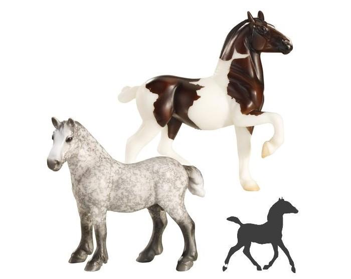 Игровые фигурки Breyer Набор Угадай жеребенка breyer игровой набор кобыла с новорожденным жеребенком