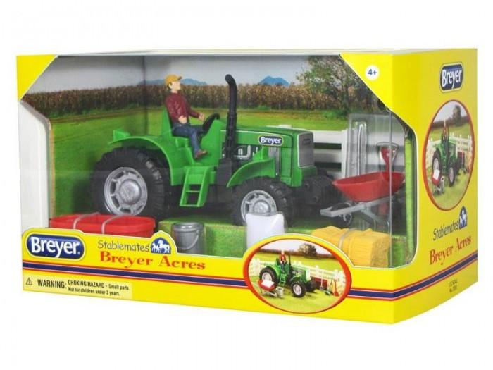 Игровые фигурки Breyer Трактор с аксессуарами breyer трактор с аксессуарами