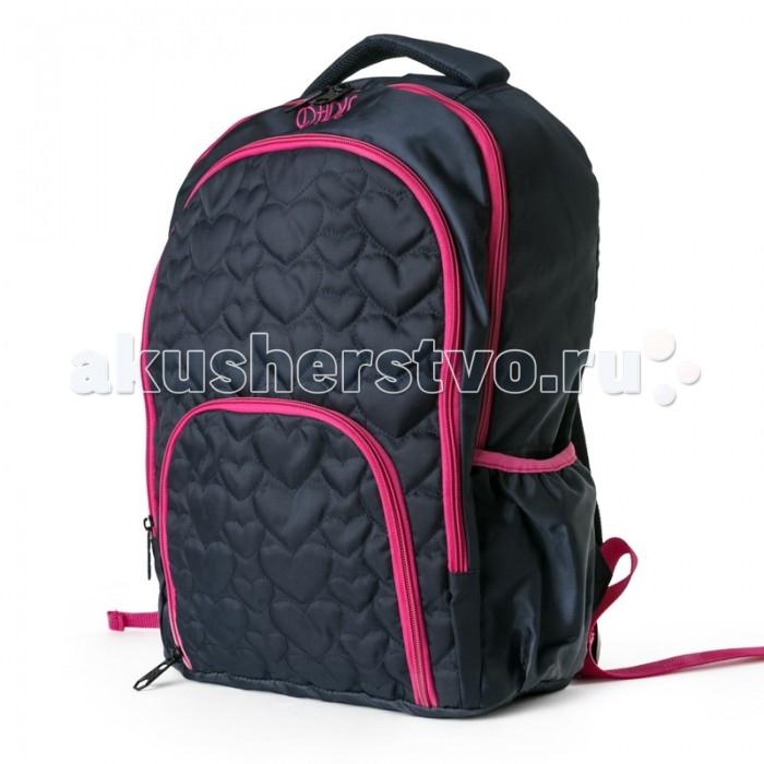 Развитие и школа , Школьные рюкзаки S'cool Рюкзак текстильный для девочек Привет, Париж! арт: 382654 -  Школьные рюкзаки