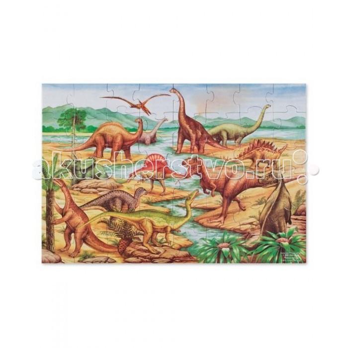 Пазлы Melissa Doug Деревянные пазлы Динозавры