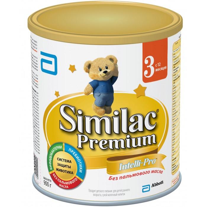 Детское питание , Молочные смеси Similac Молочная смесь 3 Premium с 12 мес. 900 г арт: 38283 -  Молочные смеси