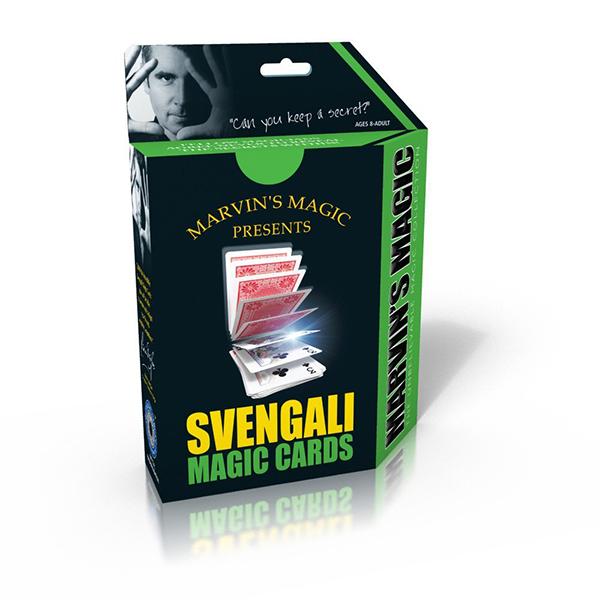 Игры для школьников Marvins Magic Набор фокусов Волшебные карты Свенгали, Игры для школьников - артикул:38308