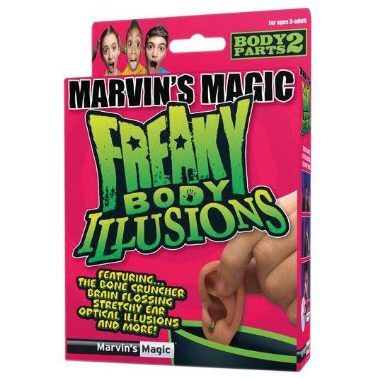 Игры для школьников Marvins Magic Набор №2 фокусов Смешные ужасы и иллюзии с частями тела, Игры для школьников - артикул:38312
