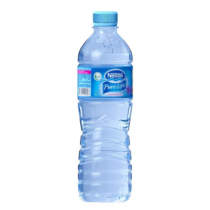 Вода Nestle Вода Pure Life 0.5 л вода о без газа 0 6 л 12шт