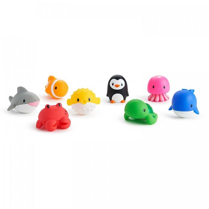 Игрушки для ванны Munchkin Игрушки для ванны Морские животные 8 шт. игрушки для ванны спектр набор для ванны лодочки