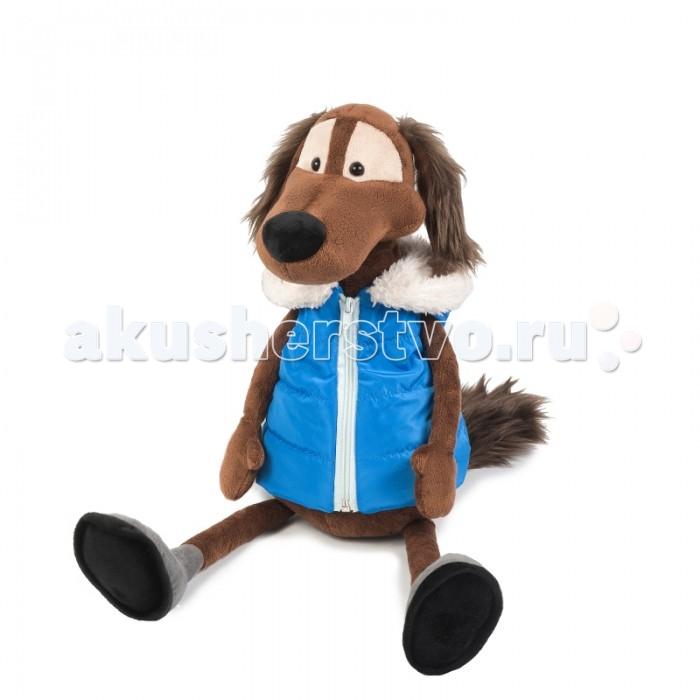 Мягкие игрушки Maxitoys Пес Шерлок в Жилетке 23 см мягкие игрушки maxitoys собачка зиночка с зайкой